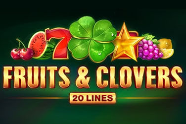 Fruits and clovers: 20 lines